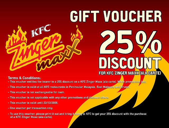kfc coupon